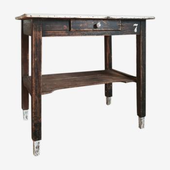 Table de ferme rustique ancienne