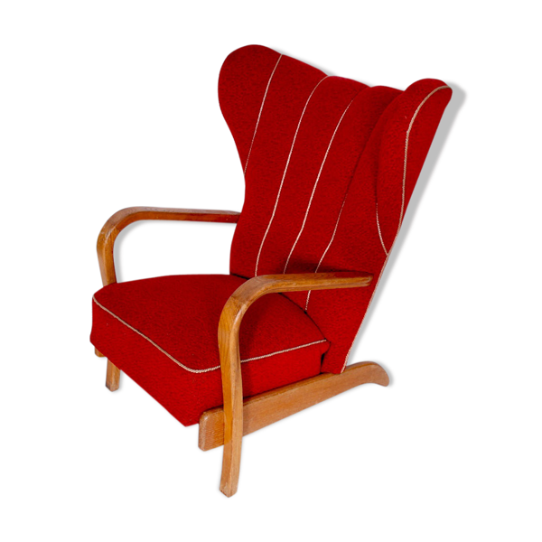 Selency Chaise à oreilles, 1950