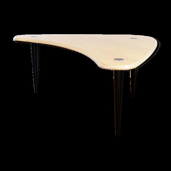 Table basse scandinave boomerang