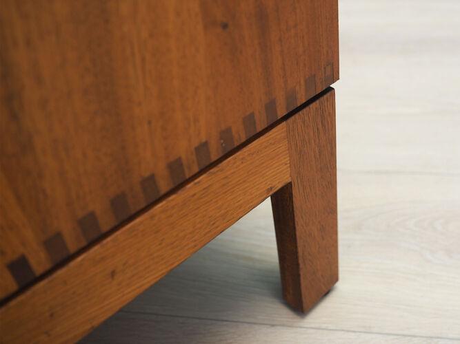Buffet en acajou, design danois, années 1970, de Børge Mogensen, fabricant: Søborg Møbler