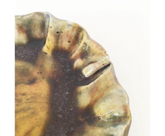 Vide poche céramique vert