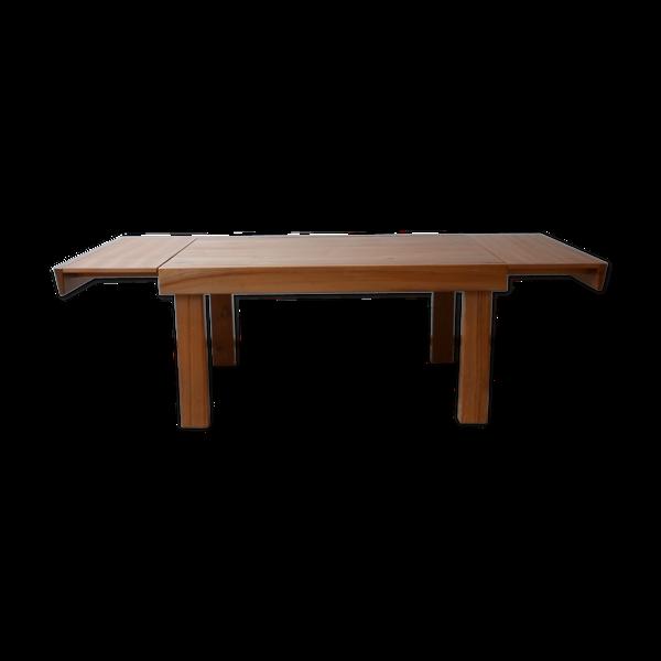 Selency Table à manger extensible du milieu du siècle Maison Regain elm français