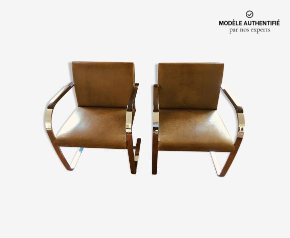 Deux fauteuils par Ludwig Mies Van der Rohe
