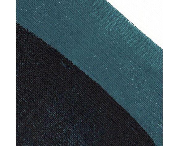 Peinture sur papier illustration datée et signée Eawy