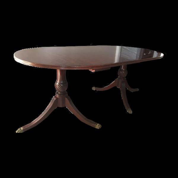 Selency Table à manger en acajou