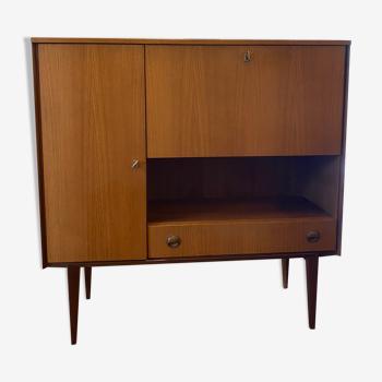 Library furniture/vintage teak bar