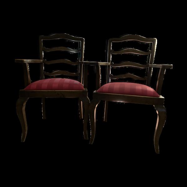 Paire de fauteuils Art Déco 1930