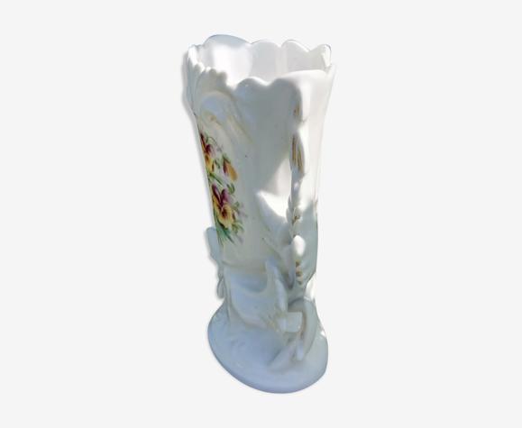 Vase de mariage en porcelaine XIXème