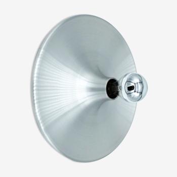 Applique Space Age Flush Light aluminium brossé