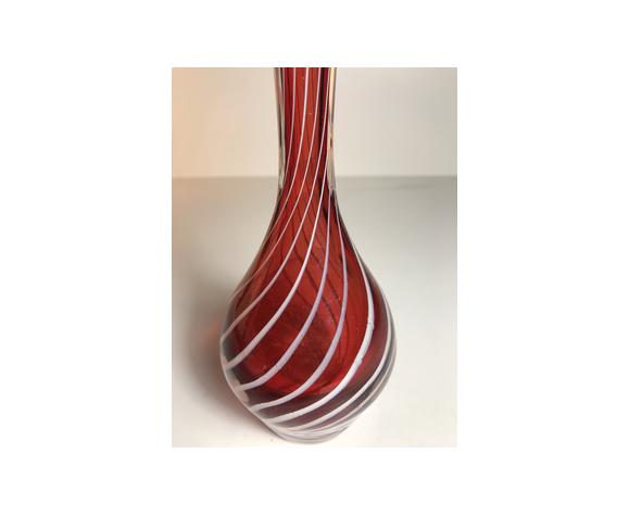 Vase en verre de Murano Italie, les années 70