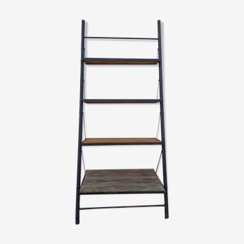 Iron and wood shelf