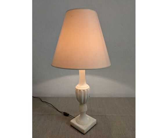 Lampe vintage en marbre