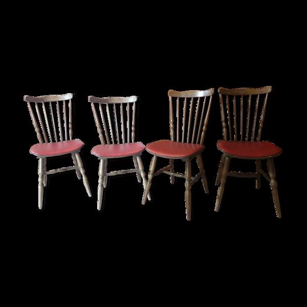 4 chaises Tacoma Baumann