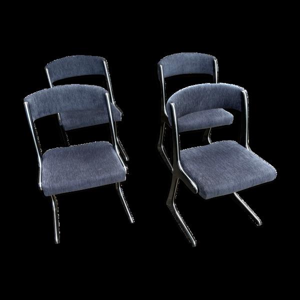 Set de chaises vintage design
