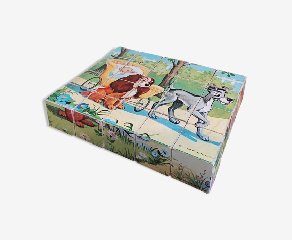 Walt disney cubes puzzle garnier
