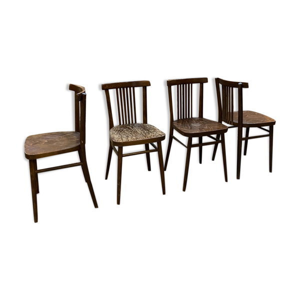 Selency 4 chaises bistrot