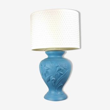 Lampe de table cramique 1980