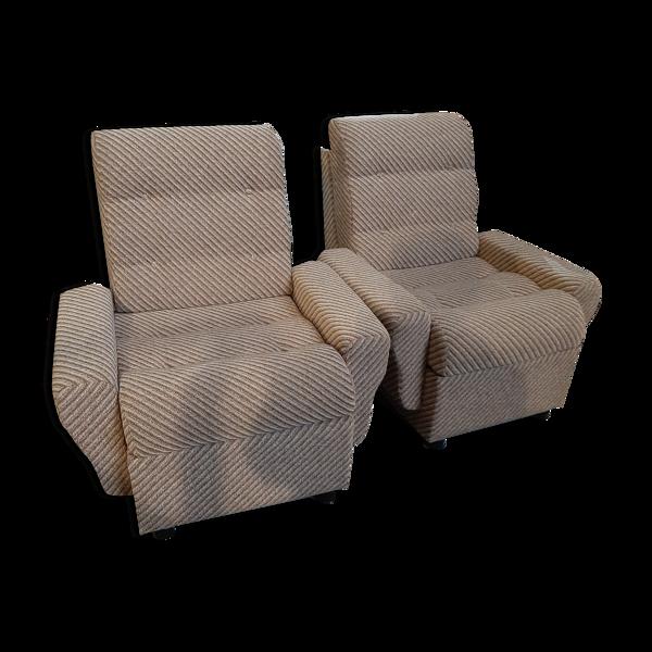 Paire de fauteuils 2970