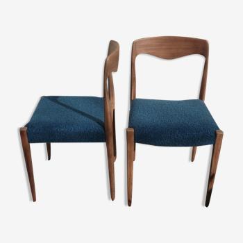 Paire de chaises Niels Otto Moller
