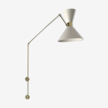 Wall light in the style of Italian creations of the 50s