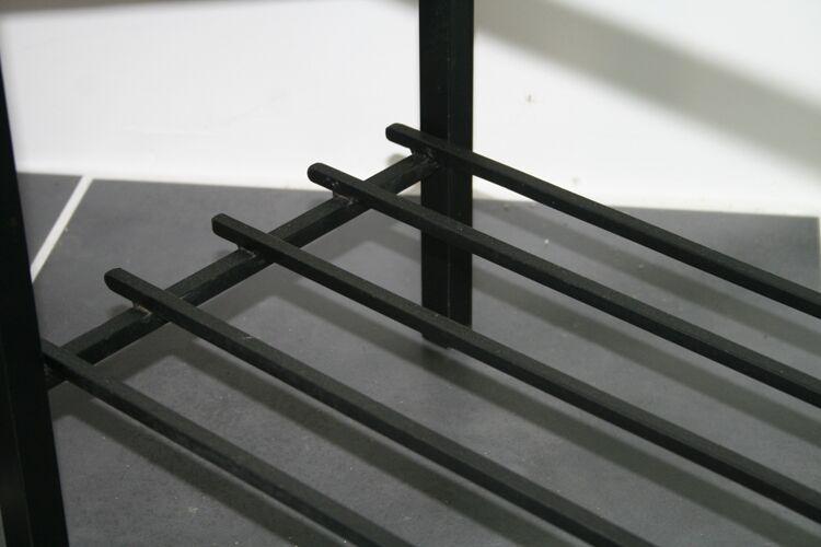 Table basse de salon métal et céramique MJR 1960