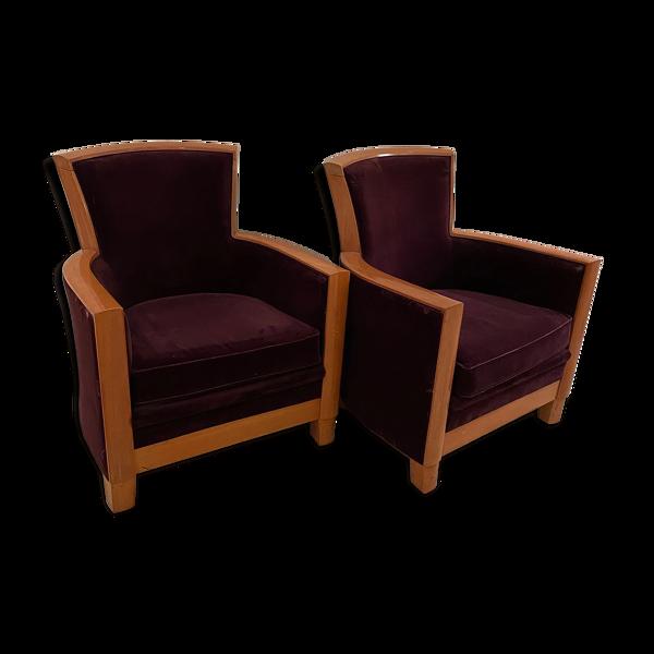 Paire de fauteuils par Rosello Paris