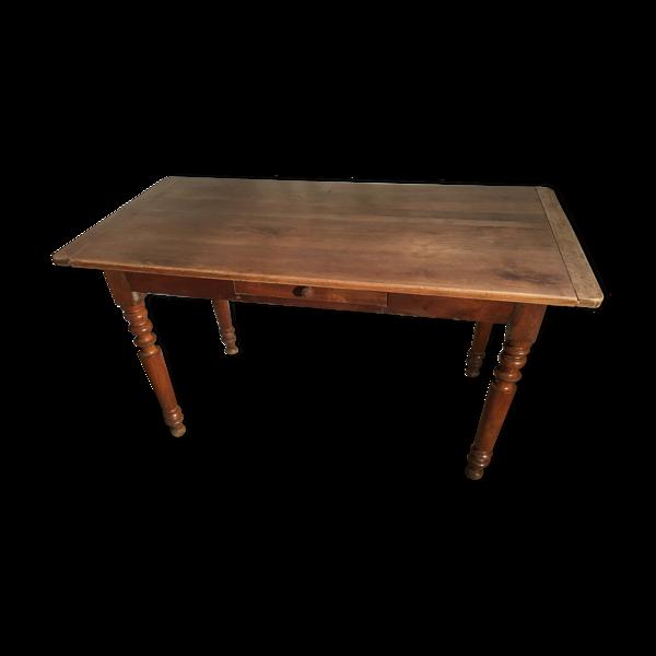 Selency Table de ferme en chêne