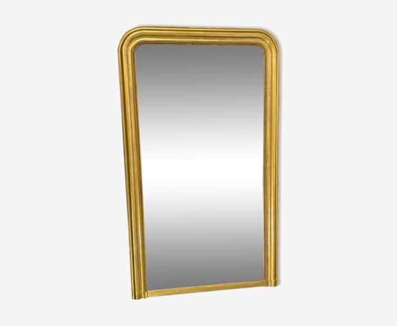 Miroir 156x92 époque louis-philippe glace mercure