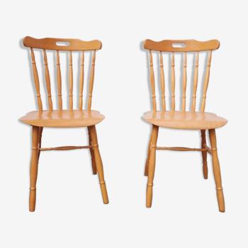 Duo de chaises vintage