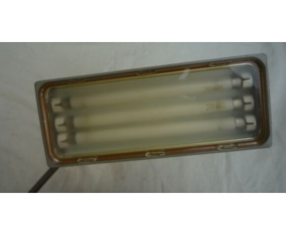 Lampe d'atelier articulée industrielle années 60