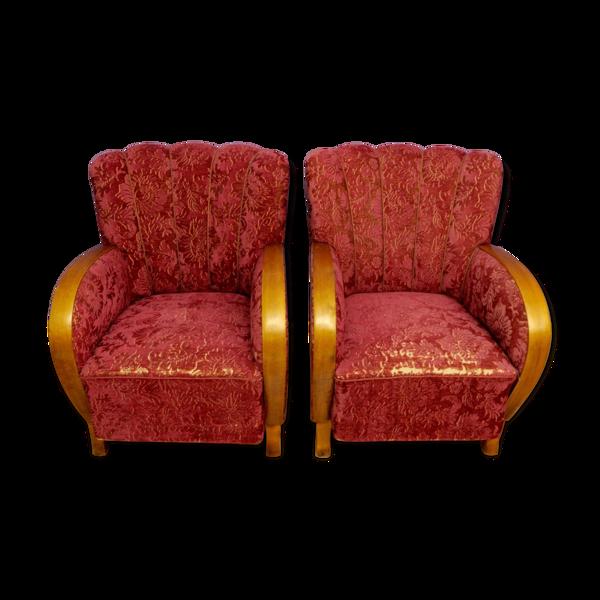 Selency Paire de fauteuils Lata