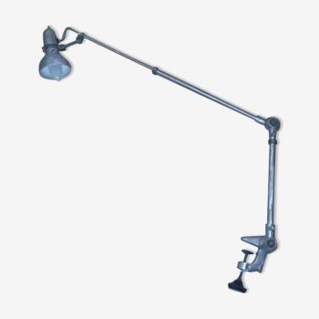 Lampe architecte vintage à étau