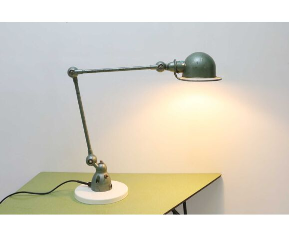 Lampe de table industrielle de Jieldé