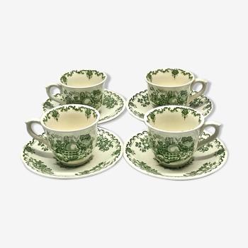 4 Mason's espresso cups