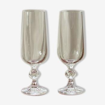 Set de 2 flûtes à champagne