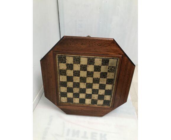 Table d'échecs art déco vintage