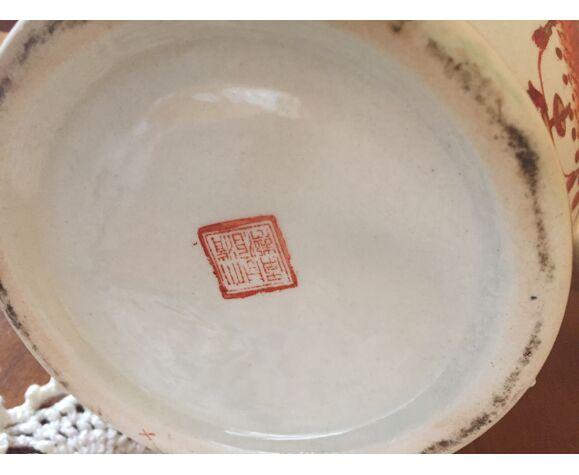 Vase chinois style Imari