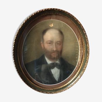 Portrait of box man
