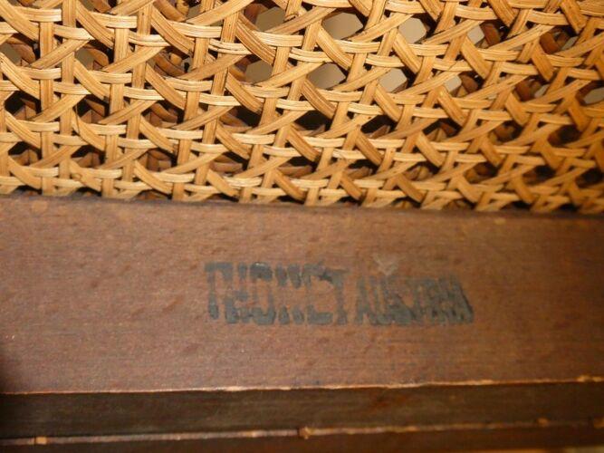 Fauteuil Morris réglable n° 6392 par Otto Prutscher pour Thonet Autriche