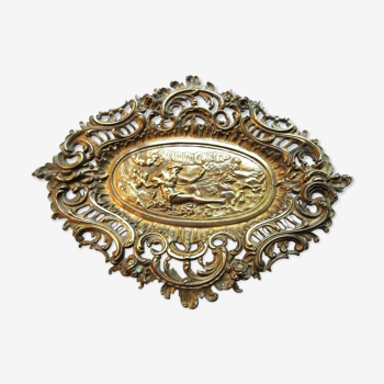 Pocket-empty cut, Bronze sculpture Louis XV style: The Neptune Tank