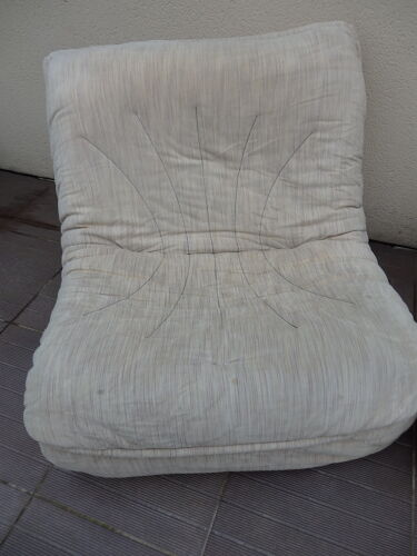 Paire de fauteuils chauffeuses vintage année 70/80