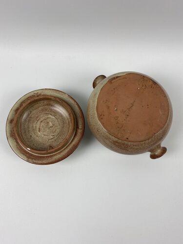 Pot en terre cuite 2 anses avec couvercle