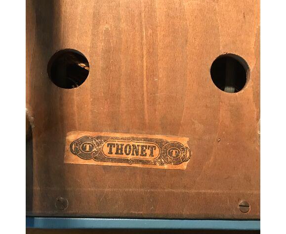 Tabouret Thonet moderniste vintage 1930