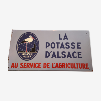Tôle Potasse d'Alsace