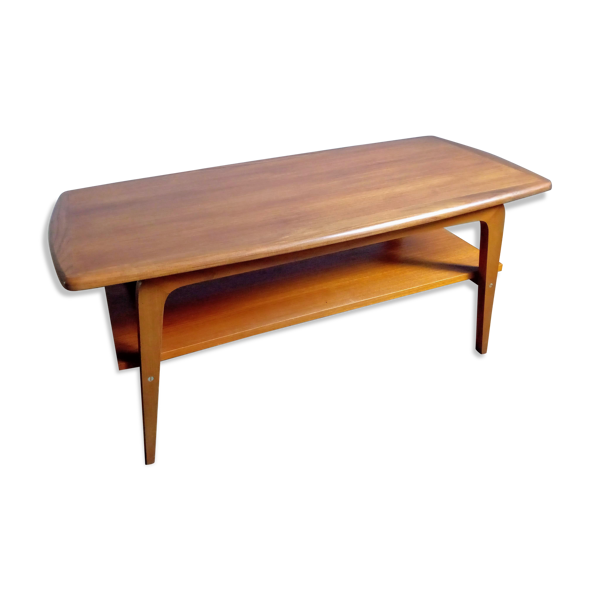 Selency Table basse teck scandinave