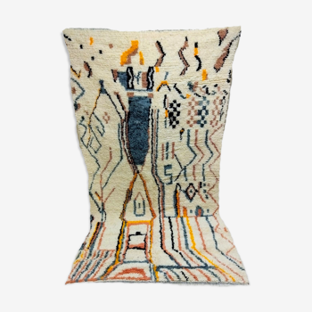 247x132cm tapis berbere marocain