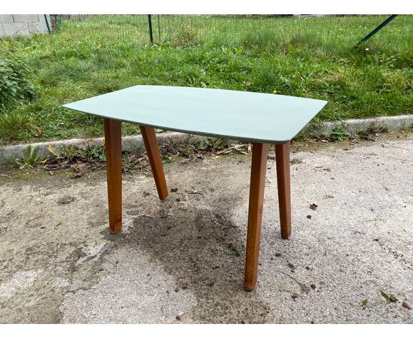 Table basse appoint pieds compas
