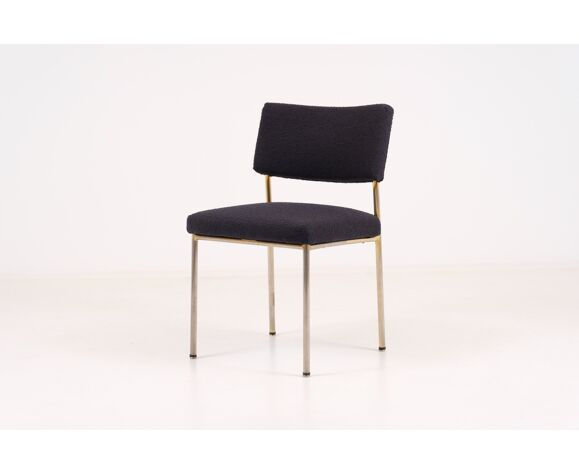 4 chaises Joseph André Motte pour Steiner 1960