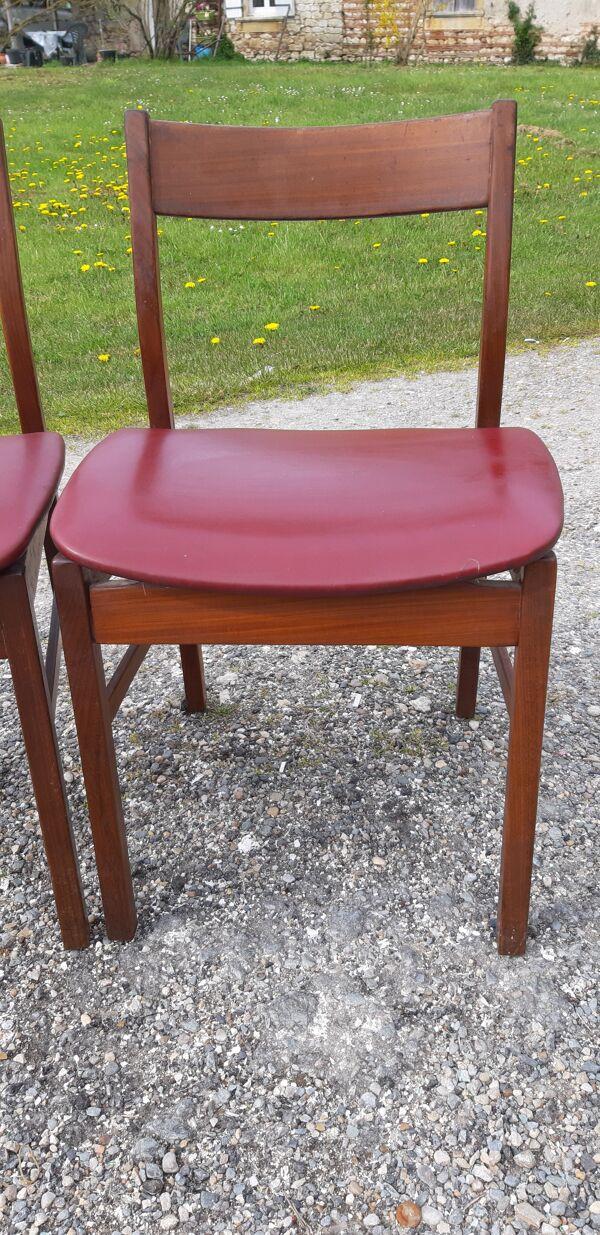 Paire de chaises de style scandinave