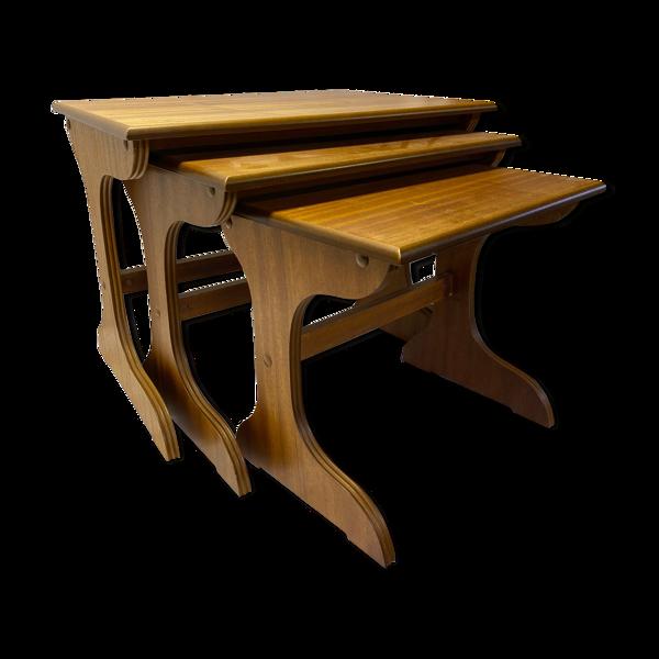 Table gigogne scandinave